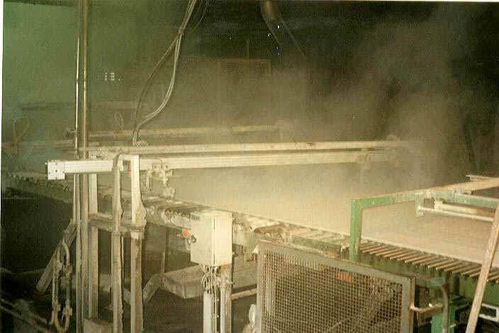 Máquina corte agua